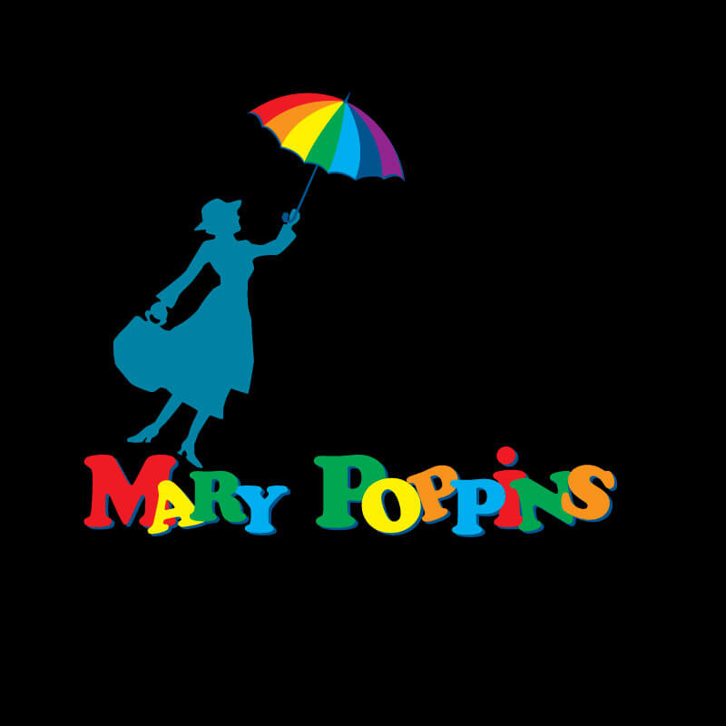 Logo Mary Poppins Lena Bee Logodesign